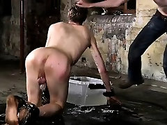 Sexy blonde hair blue eyes twink His rod is caged and incapa