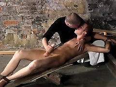 Naked gay police man sex British twink Chad Chambers is his