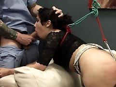 Extreme BDSM toilet slut copulated anally hard