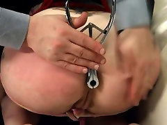 BDSM hardcore action with ropes and smart sex