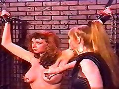 Hot model ball sucking