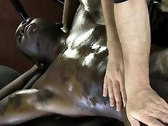 Straight muscled ebony jock thick cock sucked