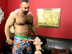 Twink movie The desperate lil youngster gets on his knees t