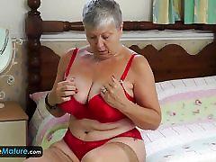 Granny Alone Europemature Savana Enjoying