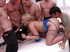 Gang bang for Alexis Texas