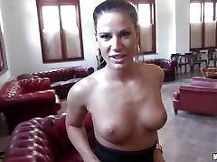 Sexy guide Athina Love fucks in an empty office block
