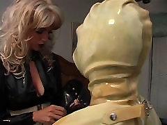 Maid slut placed in latex