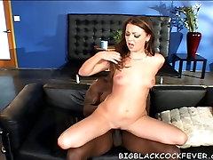 Myah Monroe ripped by a big black cock