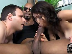 Asian wife go black in front of white husband
