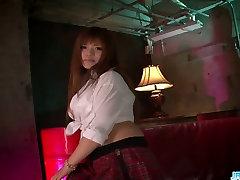 Amateur Asian schoolgirl get some from her pervert professor