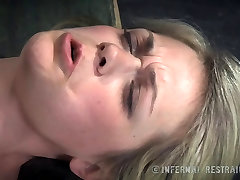 Sweet Blonde Begs For Pain In Bondage