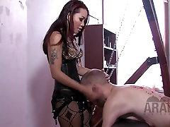 Asian American Mistress educates Arab slave full domination