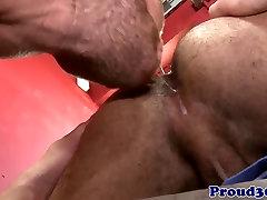 Mature muscular hunk dreams of anal fun