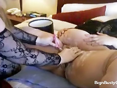 Wet shave for a big fat pussy