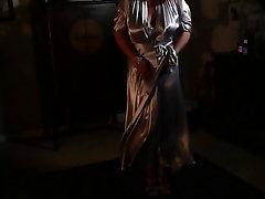 Satin Robe & Nightgown