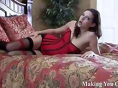Strapon fucked hard by two sadistic dommes