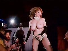 Vintage Big Boobs Stripper Hairy Bush