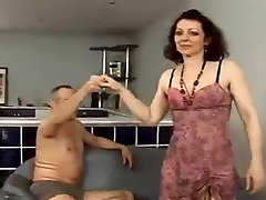 Hairy granny anal and squirt