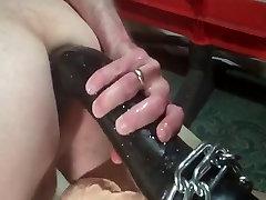 Horse Cock huge hard anal fuck cum